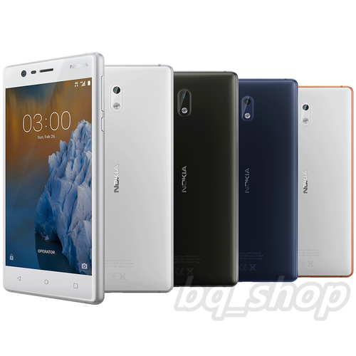 "Nokia 3 Dual SIM 16GB 5"" 2GB RAM 8MP Android with Playstore"
