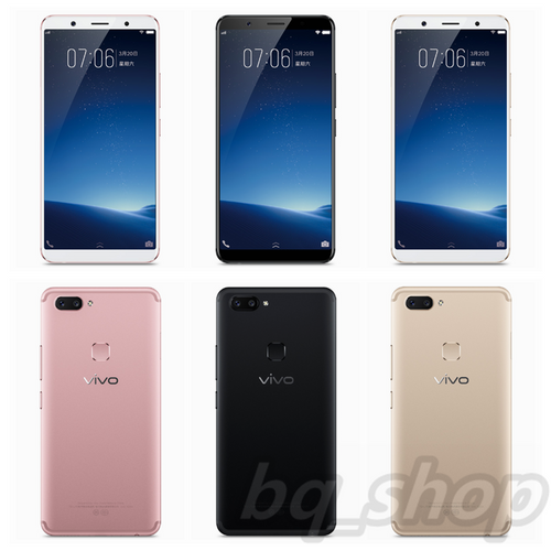 "Vivo X20 64GB 6.01"" 4GB Ram Dual 12 MP Face recognition Android Phone"