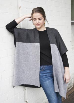 merino wool kimono