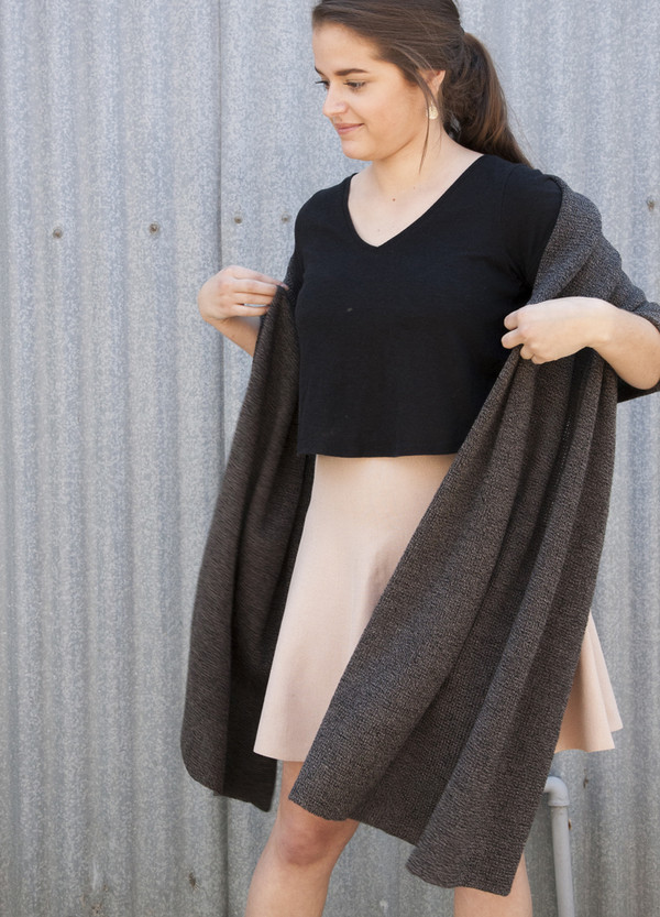 Oversized Merino Wrap