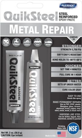 17002TRI   Quiksteel Paste Steel B/C