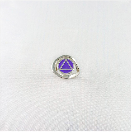 NEW  Swirl Ring with Fill