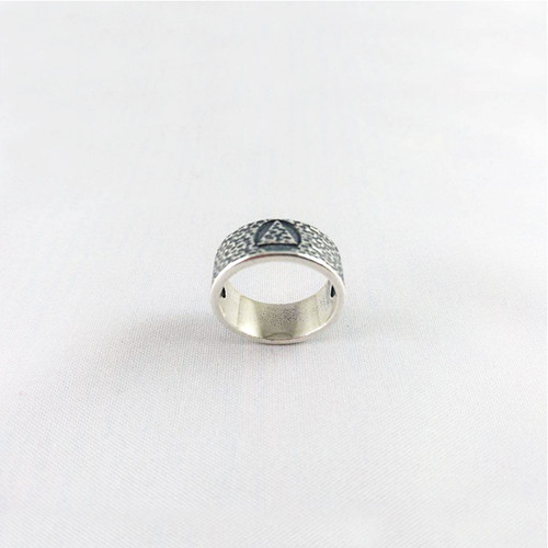 NEW  Hammered Look Ring