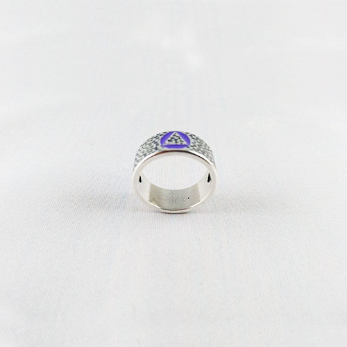 NEW  Hammered Look Filled Ring