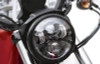 7 Inch Projector Black LED Motorcycle Headlight