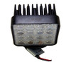 48W Flood Square LED Work Lights Black Housing