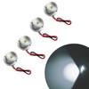 White LED Aluminum Module Flood Rock Light (4 Pack)