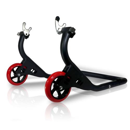 Pro Motorcycle Bike Stand Forklift Spoolift Paddock Swingarm Lift Rear Black