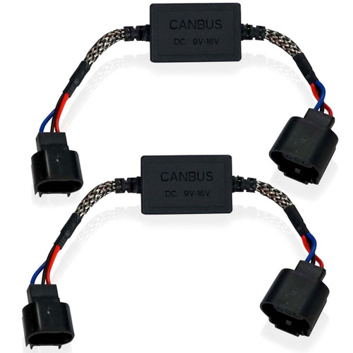 LED Canceller Capacitor Modules CANBUS for H13 9008 (2 Pack)