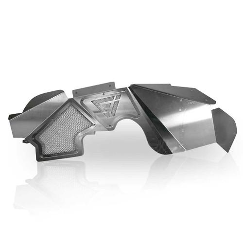 Front Aluminum Inner Fender Liners for Wrangler JK 2007-2017
