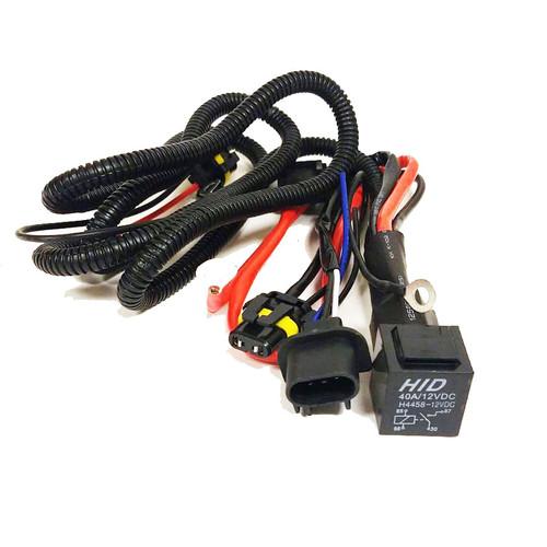 HID Xenon Wire Relay Harness H13 9008