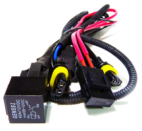 HID Xenon Wire Relay Harness H7