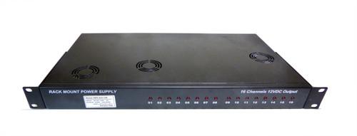 12V 400W 16 Channel Rack Mount Power Supply CCTV 1.5U 12V