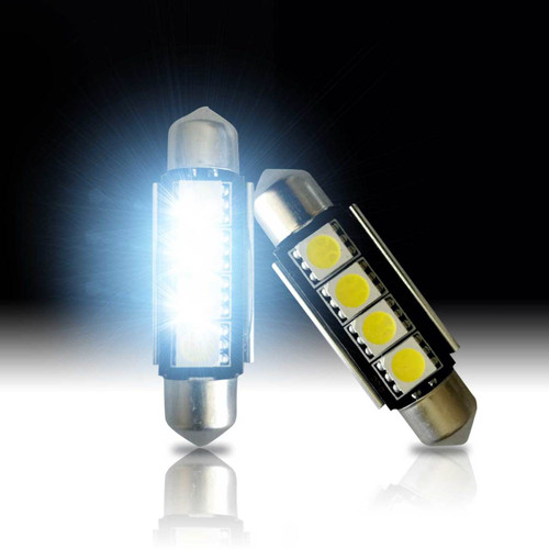 42mm 211-2 578 CANBUS 4-SMD Festoon LED Bulbs (2 Pack)