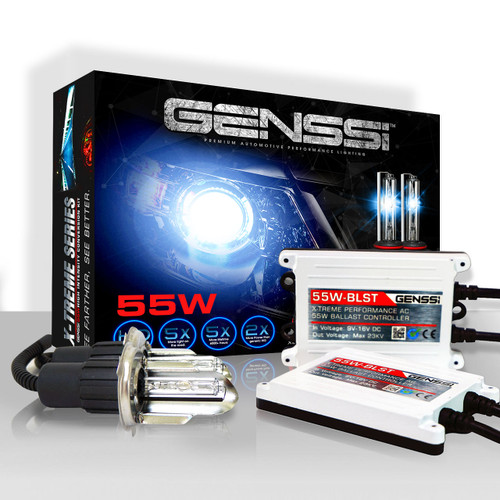 Bi-Xenon HID Kit Conversion X-treme Performance Xenon AC 55W