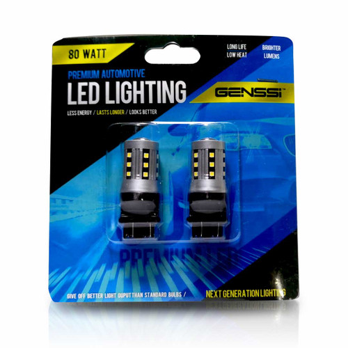 3157 3057 4157 3156 80W LED Bulbs (2 Pack)
