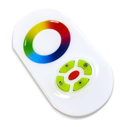 LED Strip RGB Controller RF Wireless Touch Color Wheel