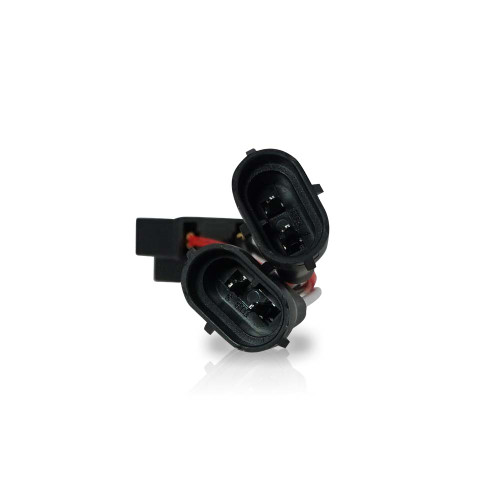 Headlight H4 TO H9/H11 Adapter for Harley