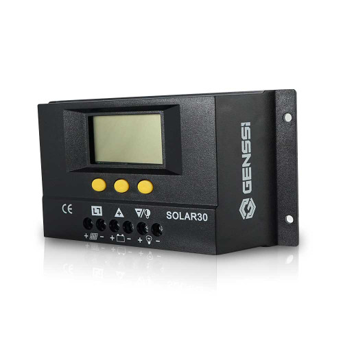 LCD Pro Solar Panel Charge Controller 30A PWM Battery Regulator 12V/24V