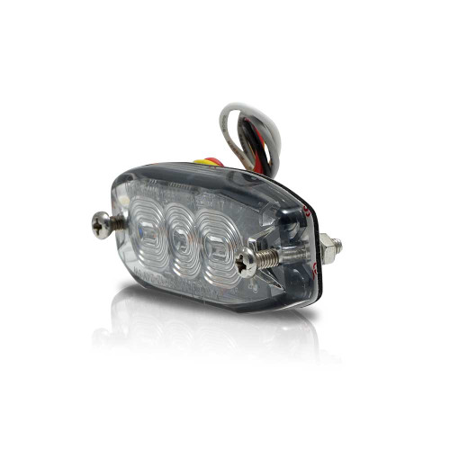 Surface Mount Pro Grade Amber LED Strobe Light 3 LED 9W