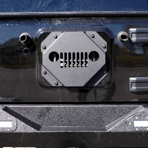 Vent Cover Tire Carrier Delete Kit Tramp Stamp for Jeep Wrangler 2007-2017