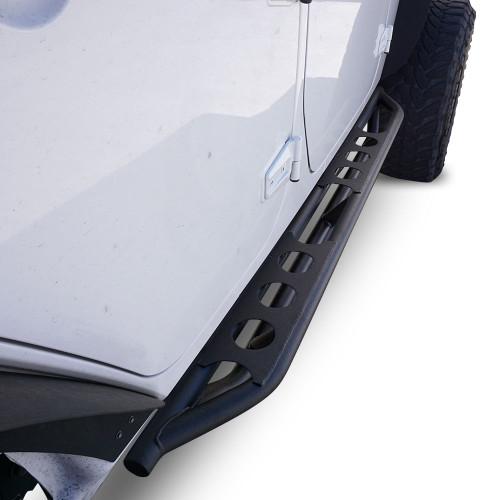 Side Steps Rock Sliders for Jeep Wrangler 4dr 2007-2017