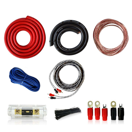 0AWG Car Audio Installation Wiring Kit 0/1 Gauge