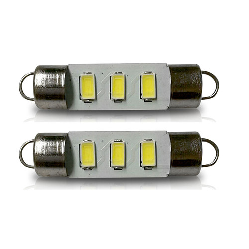 212 211-2 212-2 Festoon LED Dome Map Interior Light bulbs (2 Pack)
