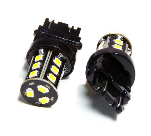 3157 3057 4157 3156 LED Tail Light Reverse Back Up Bulbs (2 Pack)