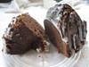 Chocolate Pound Cake with Vanilla Glaze