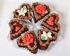 Chocolate Ganache Valentine Cakes