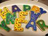 """Happy New Year"" Sugar Cookies"