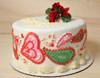 Paisley Valentine Cake