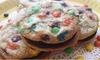 Gluten Free M&M Sandwich Cookies