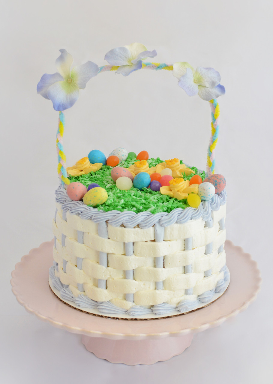 Easter cake ideas easter cakes 20 easy easter cake ideas recipes easter cake ideas easter basket cake 7 maggie molly s sweet negle Gallery