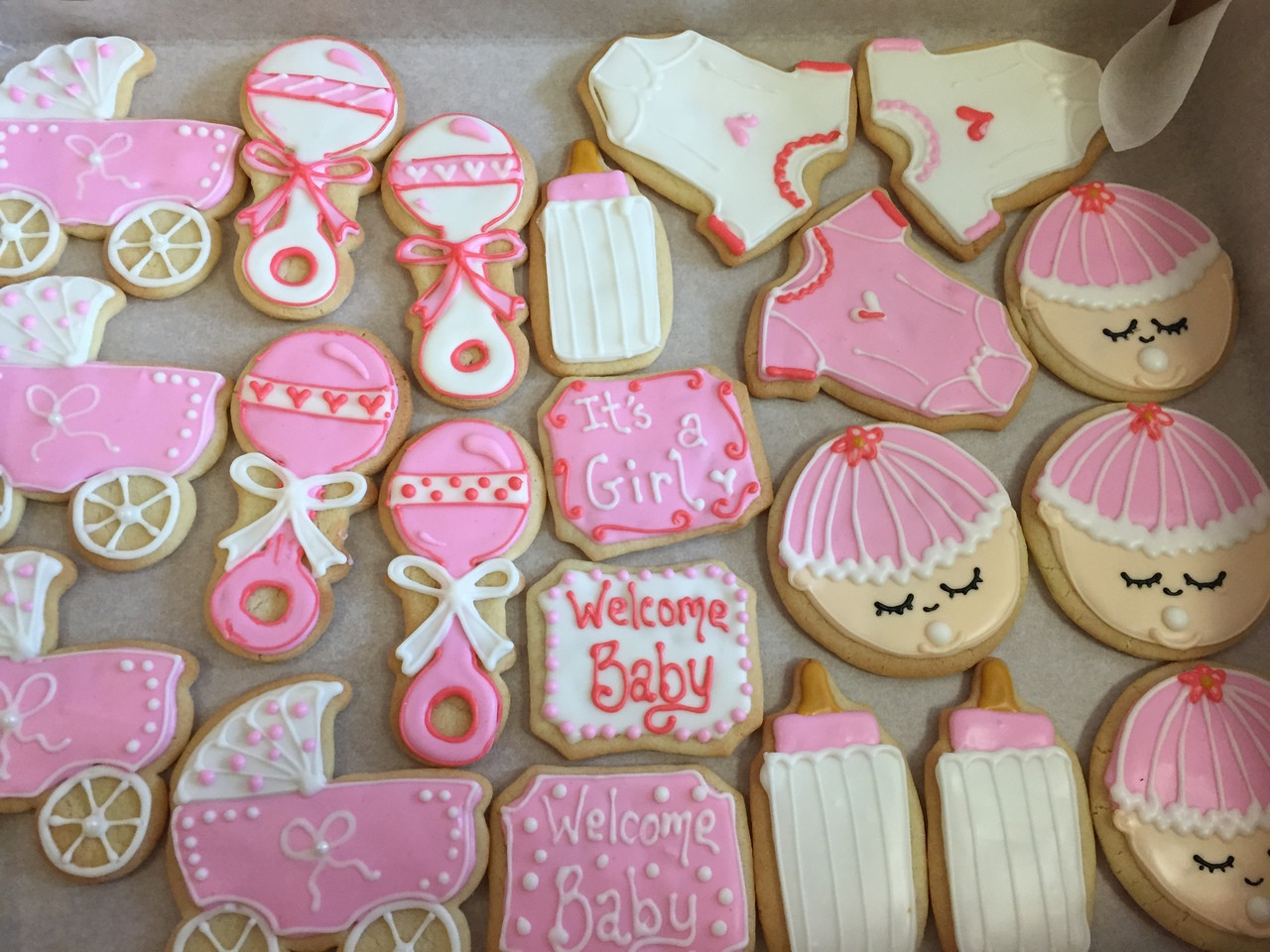 Perfect Baby Shower Cookies