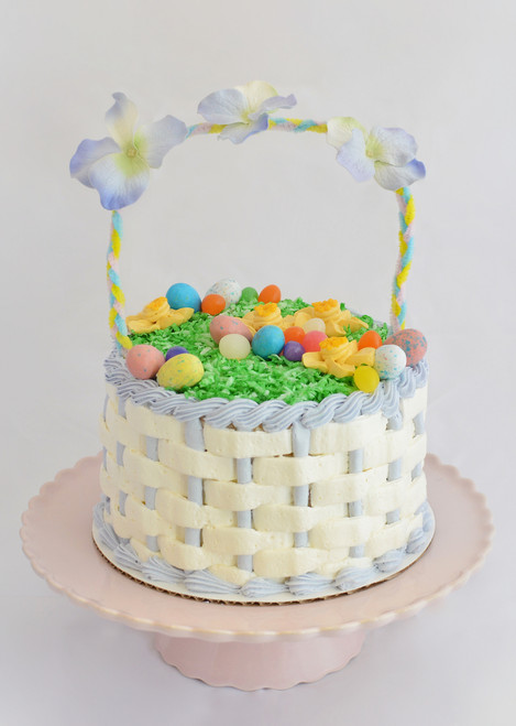 Easter sugar cookies maggie mollys sweet life easter basket cake 7 negle Gallery