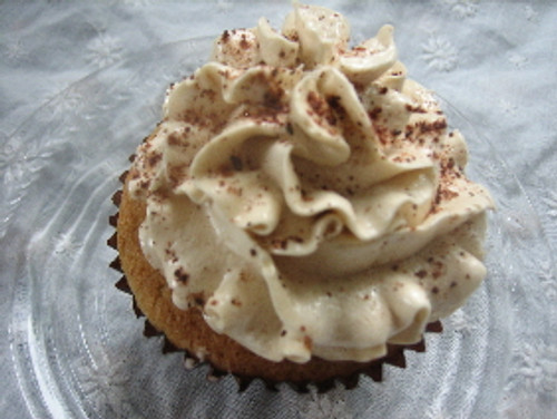 Chai Cupcakes with Brown Sugar Buttercream