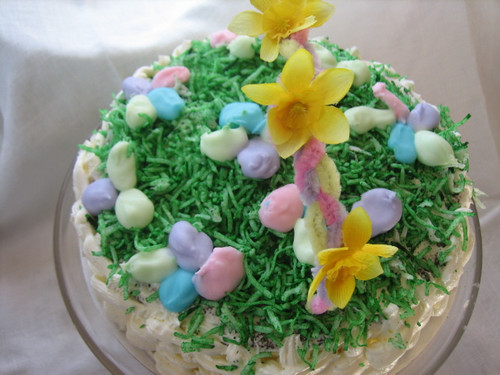 Easter Basket Cake Class
