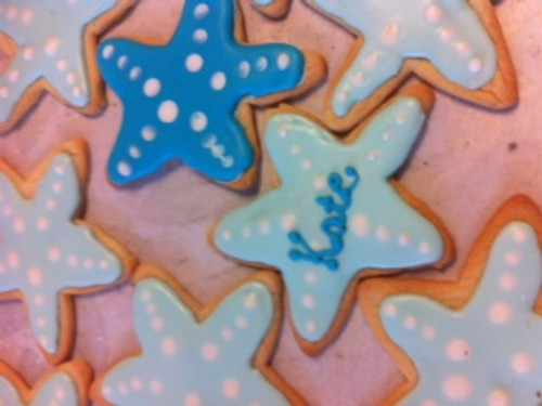 Starfish Sugar Cookies