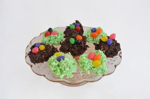 Easter Basket Coconut Clusters