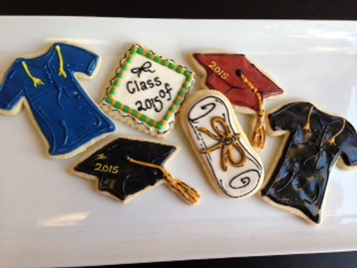Cap and Gown Sugar Cookies