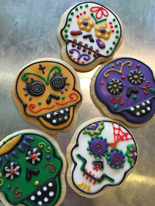 Day of the Dead Sugar Cookies
