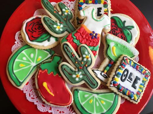 Cinco de Mayo Sugar Cookies