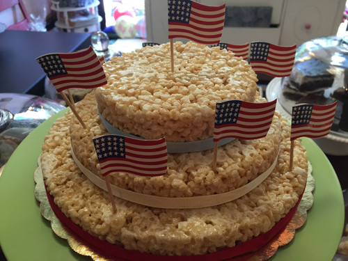 Rice Krispie Treat Dessert