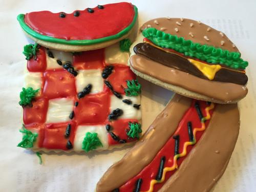 Summer BBQ Cookies