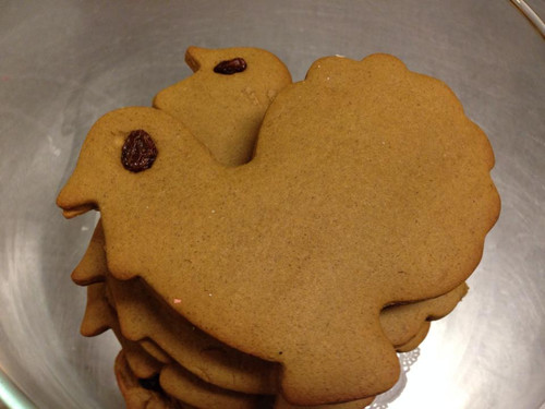Gingerbread Turkeys