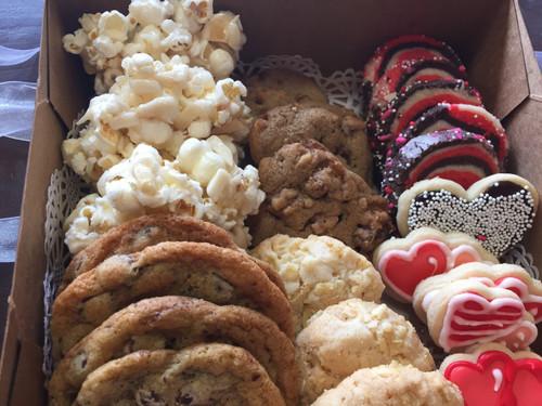 Dude Valentine Cookie Box