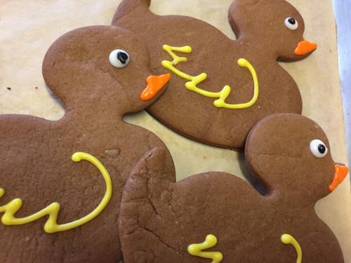 Gingerbread Duckies