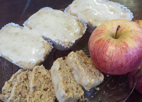 Gluten Free Apple Cinnamon Oat Bread